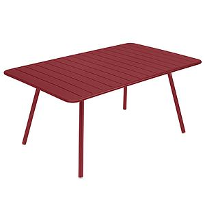 Table 165x100cm LUXEMBOURG Fermob piment