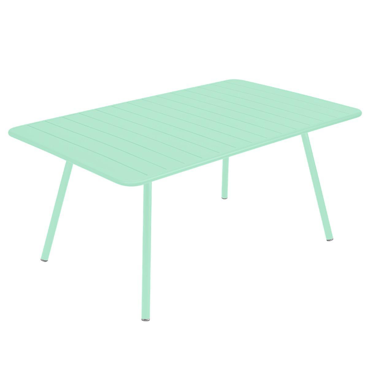Table 165x100cm LUXEMBOURG Fermob vert opaline