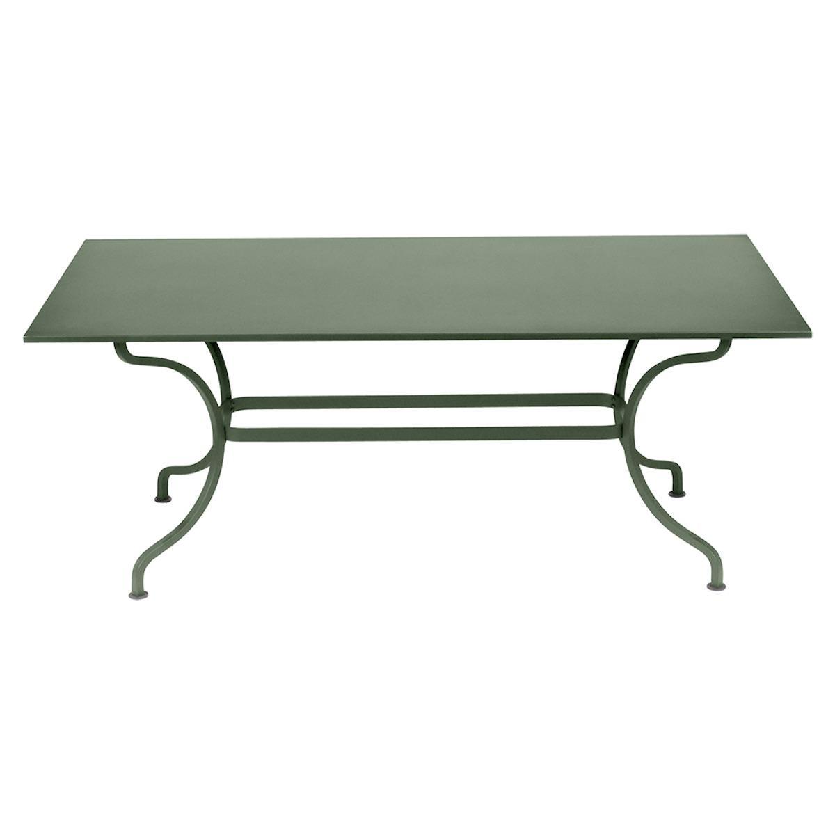Table 180x100cm ROMANE Fermob cactus