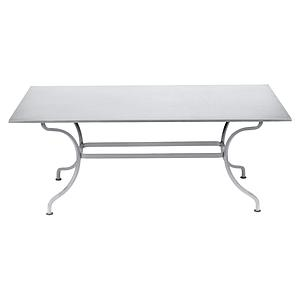 Table 180x100cm ROMANE Fermob coton