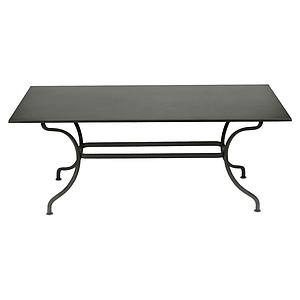 Table 180x100cm ROMANE Fermob romarin