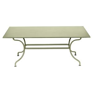 Table 180x100cm ROMANE Fermob tilleul