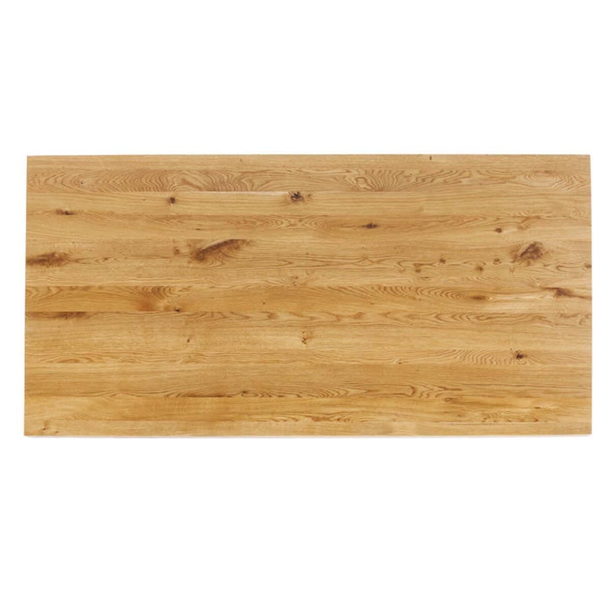 Table 180x90cm JACKIE Kare Design chêne-acier brut