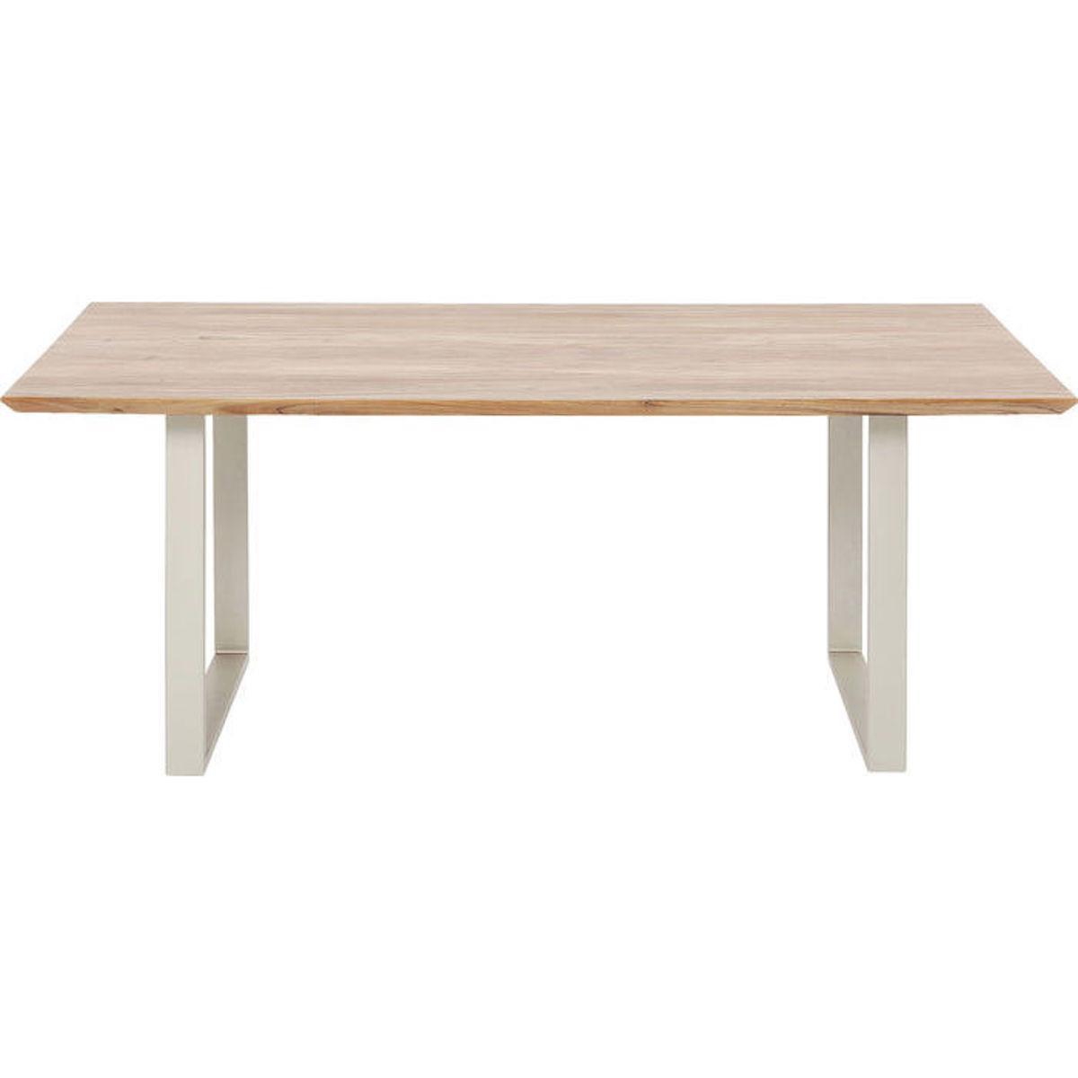 Table 180x90cm SYMPHONY Kare Design acacia-argent mat