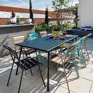 Table 194x94cm MONCEAU Fermob verveine