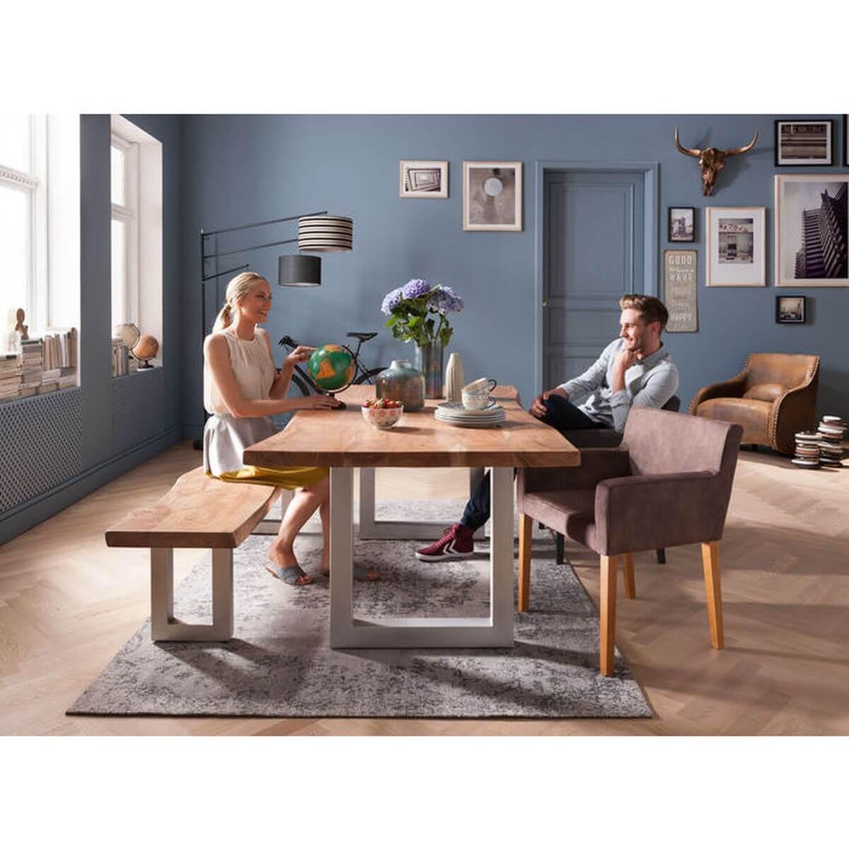 Table 195x100cm PURE Kare Design nature