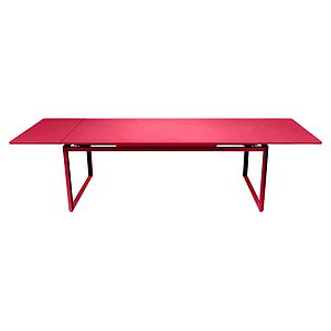 Table 2 rallonges 100x300cm BIARRITZ Fermob rose praline