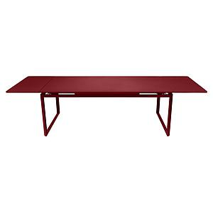 Table 2 rallonges 100x300cm BIARRITZ Fermob Rouge piment