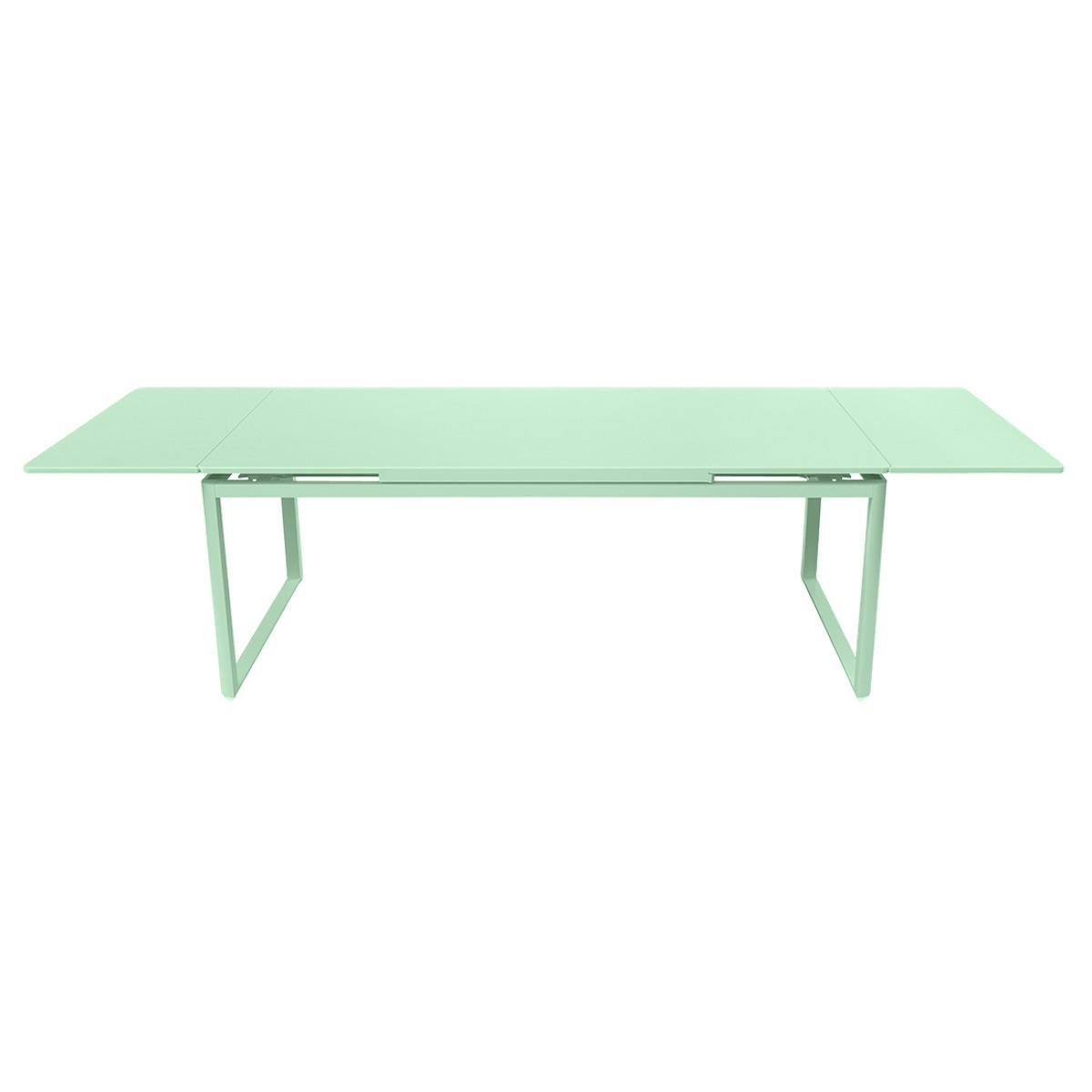 Table 2 rallonges 100x300cm BIARRITZ Fermob vert opaline