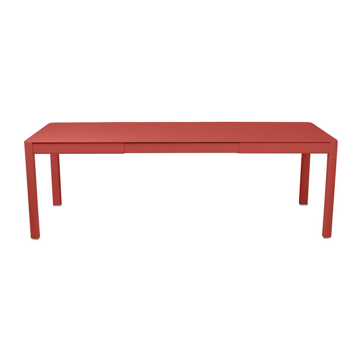 Table 2 rallonges 234x100cm RIBAMBELLE Fermob Capucine