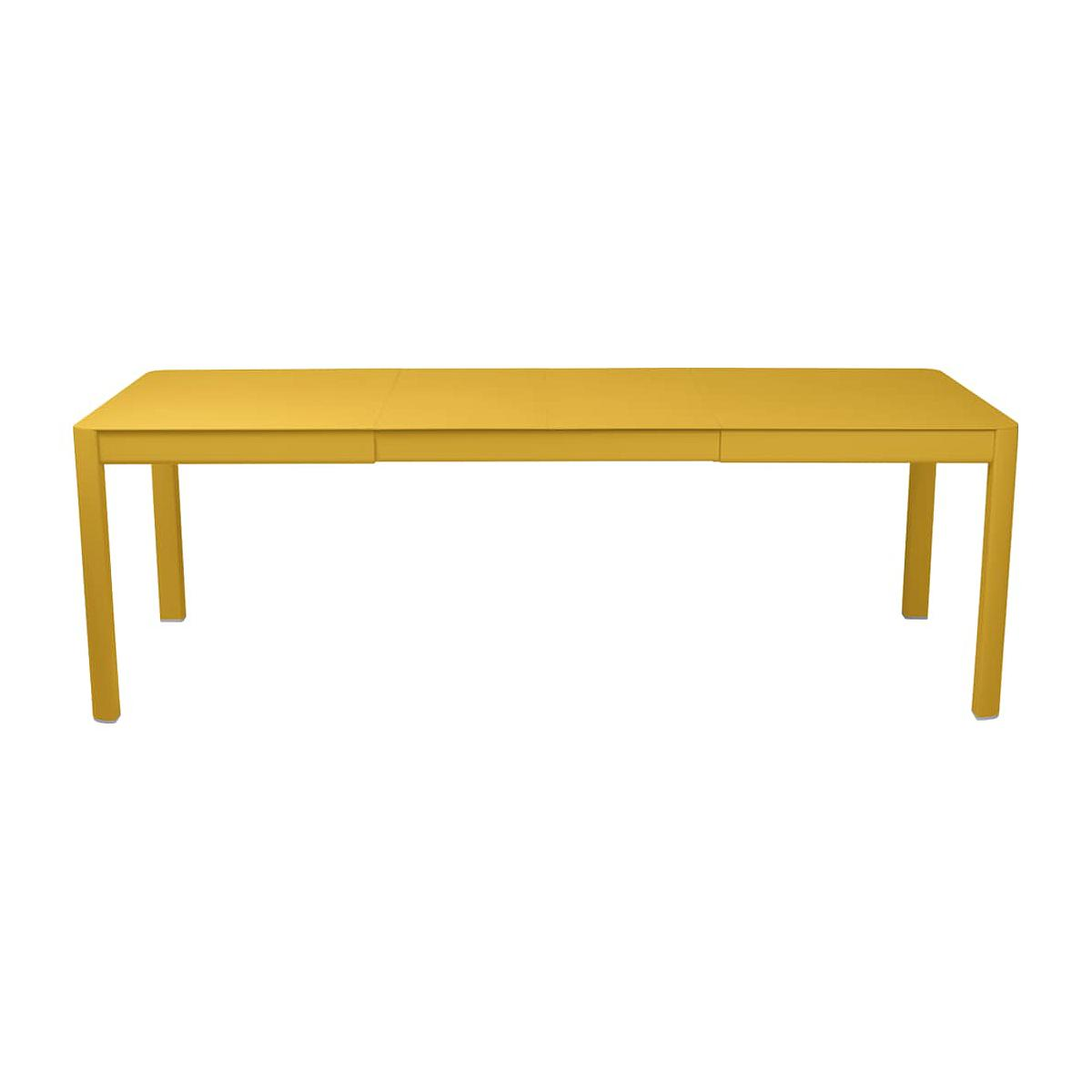 Table 2 rallonges 234x100cm RIBAMBELLE Fermob Miel