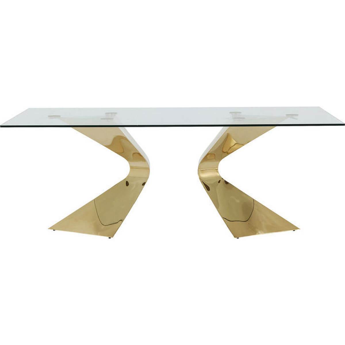 Table Gloria Gold Kare Design 200x100cm