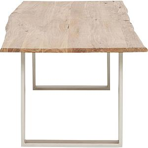 Table 200x100cm HARMONY Kare Design argenté