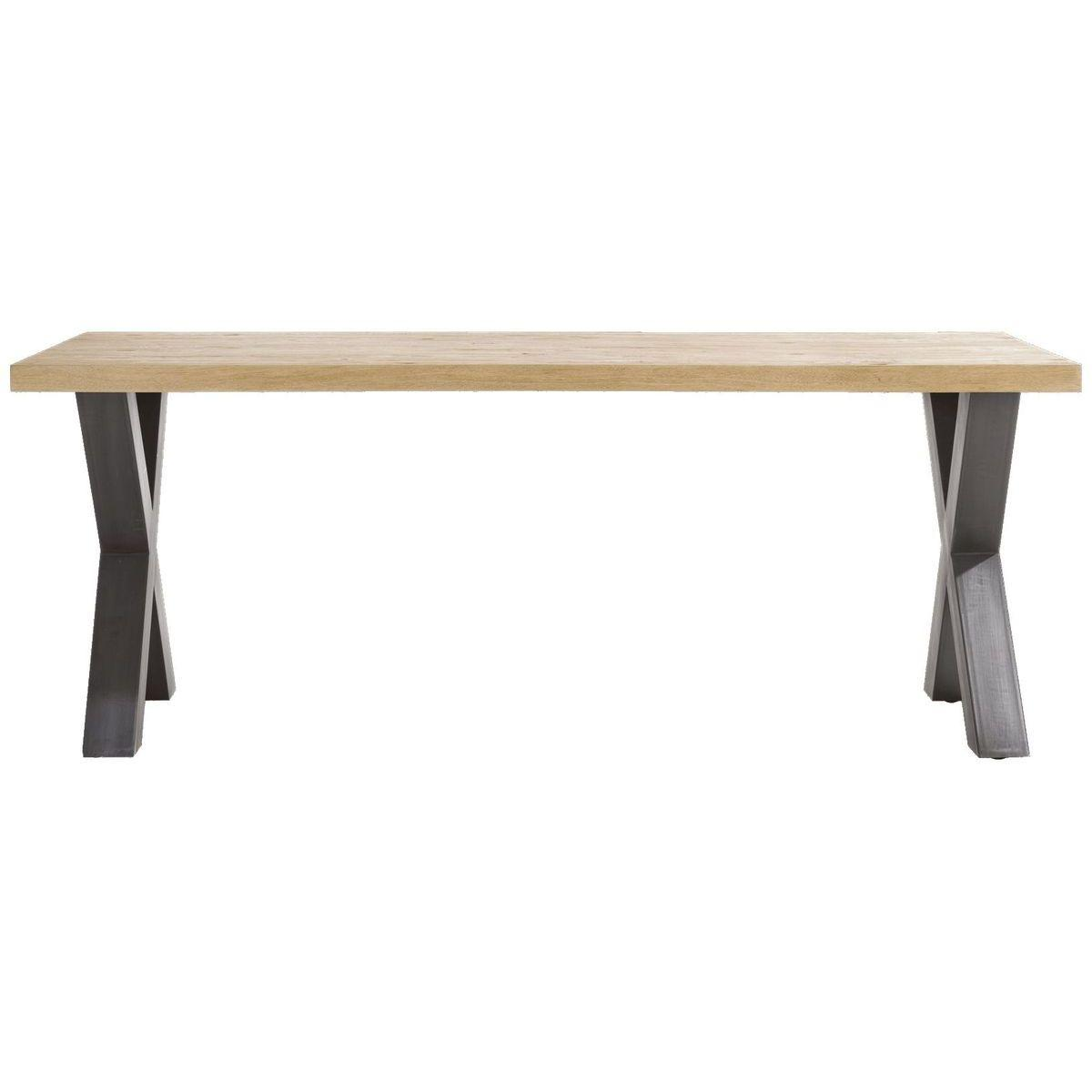 Table METALOX HetH 200x100cm