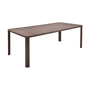 Table 205x100cm OLERON Fermob rouille