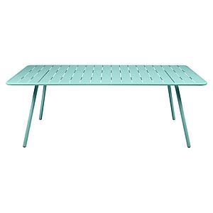 Table 207x100cm LUXEMBOURG Fermob Bleu Lagune