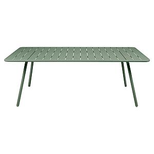Table 207x100cm LUXEMBOURG Fermob cactus