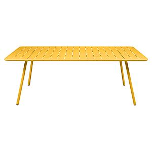 Table 207x100cm LUXEMBOURG Fermob miel