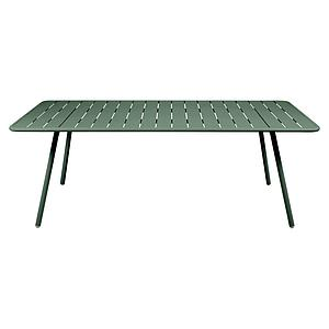 Table 207x100cm LUXEMBOURG Fermob vert cedre