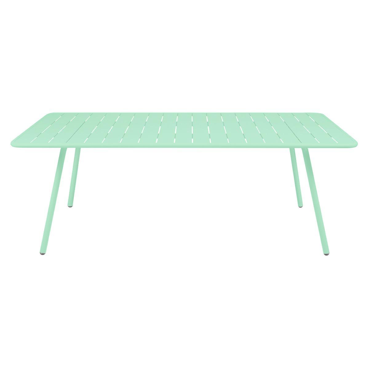 Table 207x100cm LUXEMBOURG Fermob vert opaline