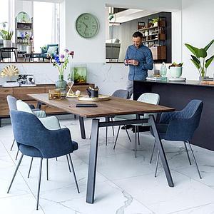 Table 220x100cm HALMSTAD Xooon