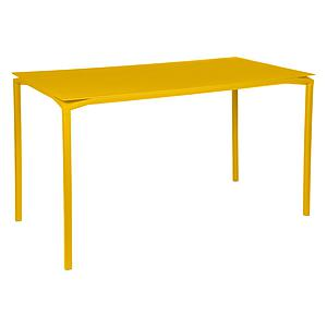 Table 80x160cm CALVI Fermob jaune miel