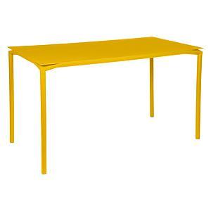 Table 80x160cm CALVI Fermob jaune miel