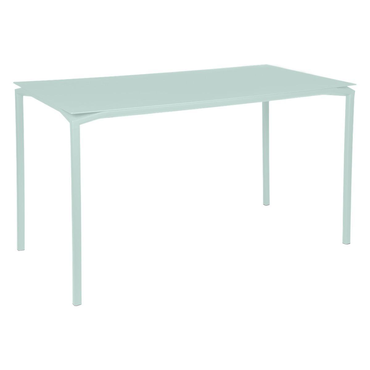 Table 80x160cm CALVI Fermob menthe glaciale
