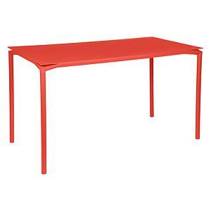 Table 80x160cm CALVI Fermob  orange capucine