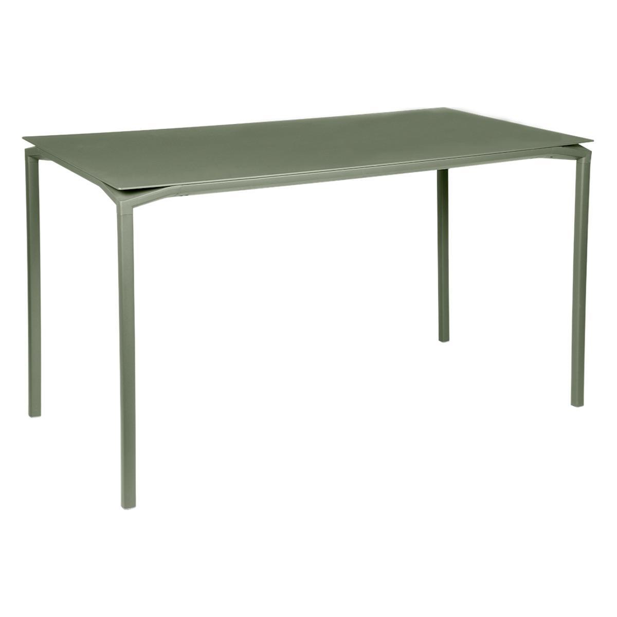 Table 80x160cm CALVI Fermob  vert cactus