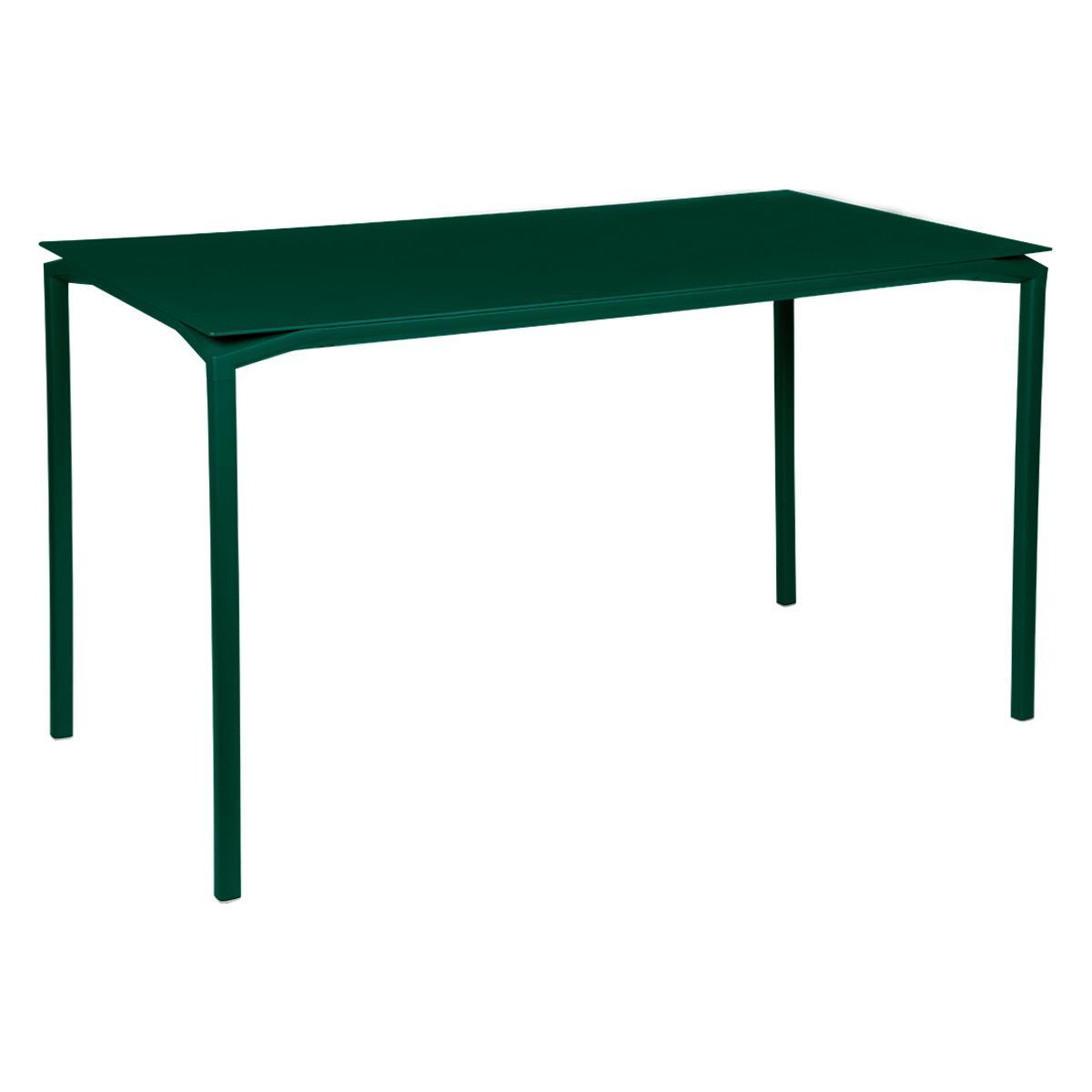 Table 80x160cm CALVI Fermob vert cèdre
