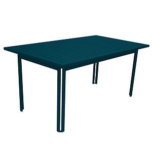 Table 80x160cm COSTA Fermob bleu acapulco