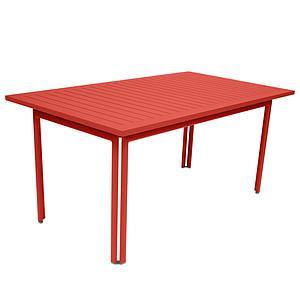 Table 80x160cm COSTA Fermob Capucine