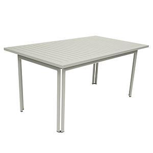Table 80x160cm COSTA Fermob gris argile