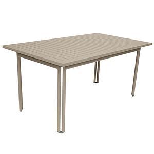 Table 80x160cm COSTA Fermob Muscade