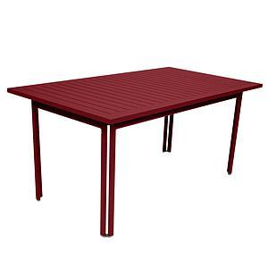 Table 80x160cm COSTA Fermob Piment