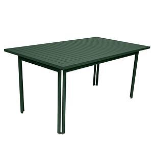 Table 80x160cm COSTA Fermob Vert cédre