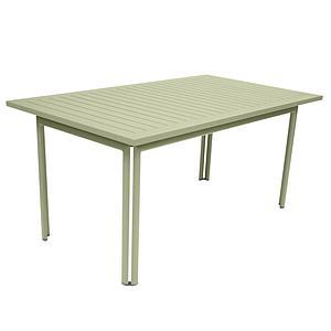 Table 80x160cm COSTA Fermob Vert tilleul