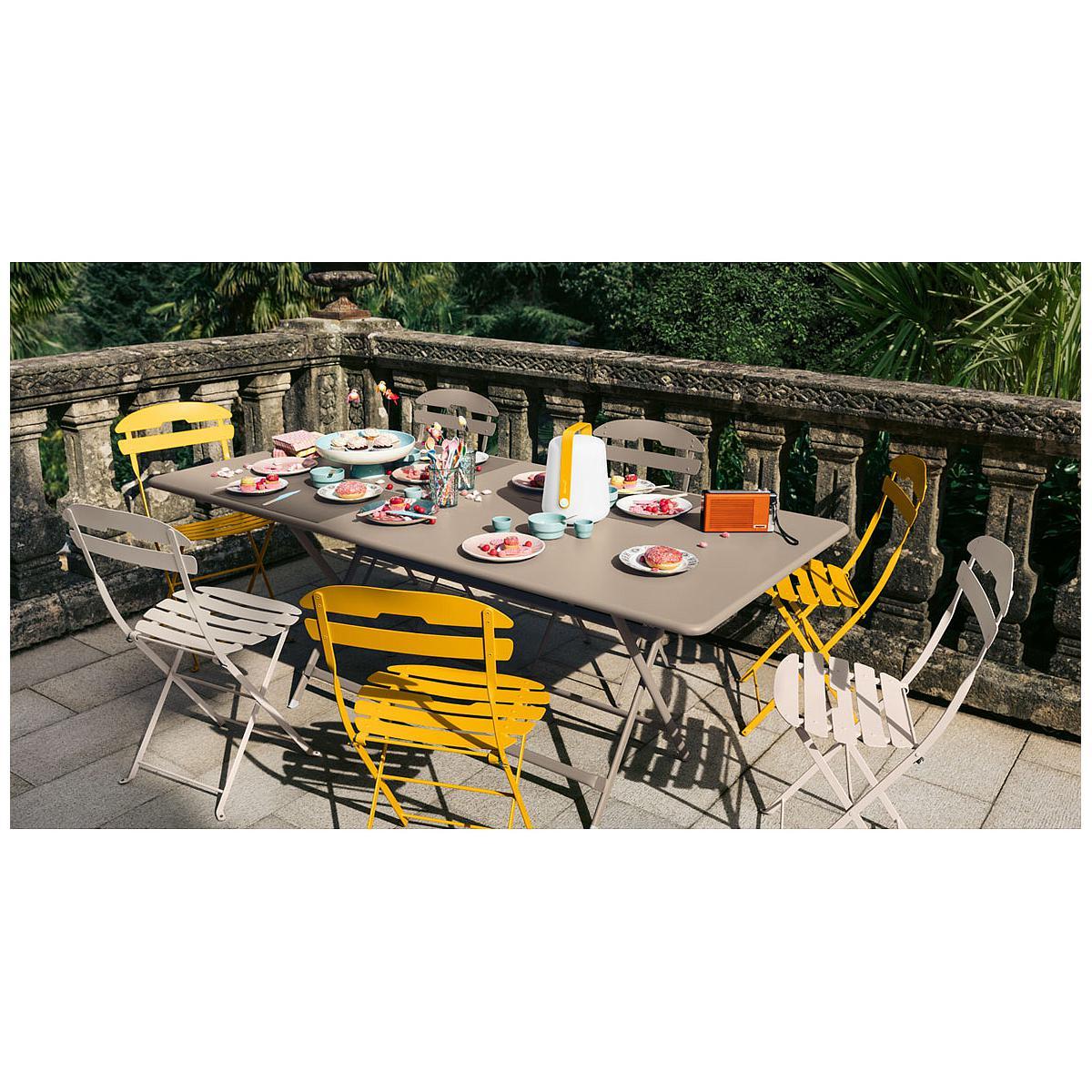 abitare-living.lu | Table 90x190cm pliante CARACTERE Fermob ...