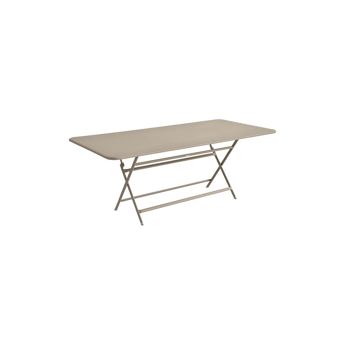 Table 90x190cm pliante CARACTERE Fermob Muscade