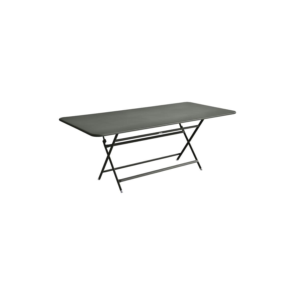 Table 90x190cm pliante CARACTERE Fermob Romarin