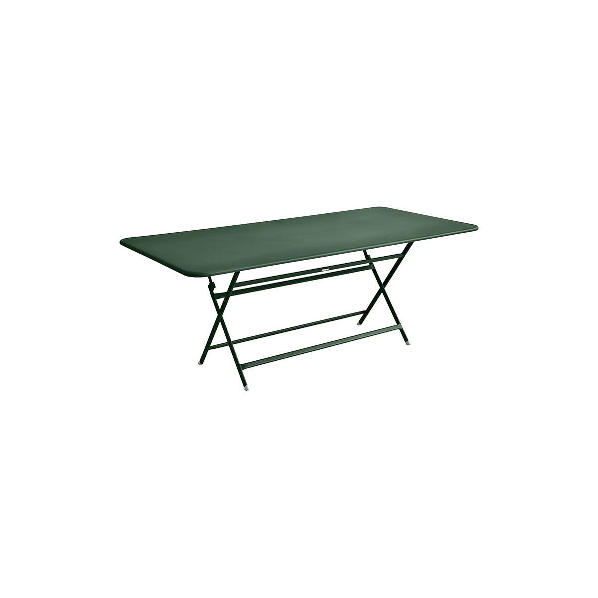 Table 90x190cm pliante CARACTERE Fermob Vert cèdre