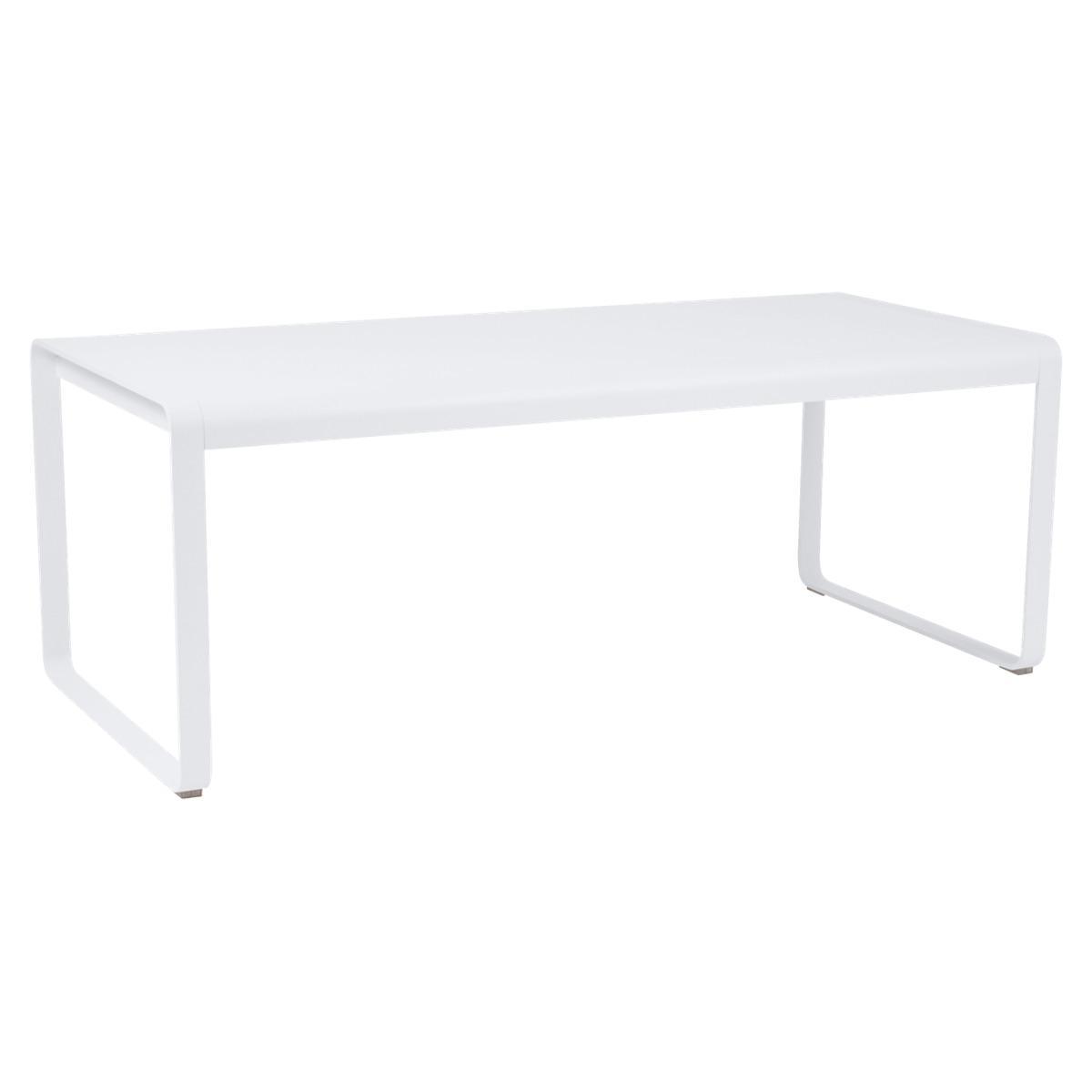 Table 90x196cm BELLEVIE PREMIUM Fermob blanc coton