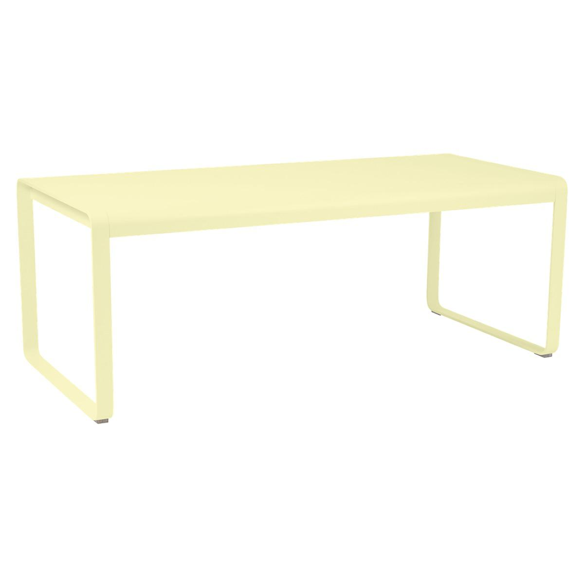 Table 90x196cm BELLEVIE PREMIUM Fermob citron givré