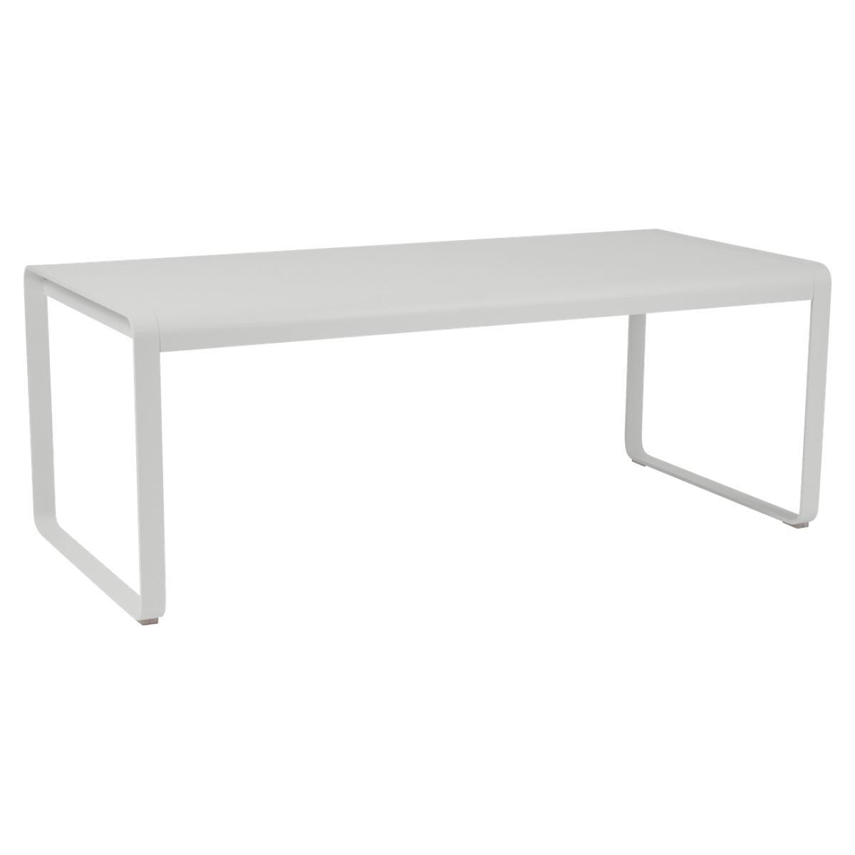 Table 90x196cm BELLEVIE PREMIUM Fermob gris métal