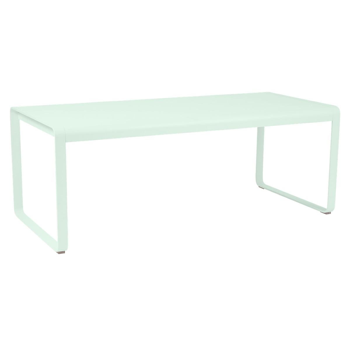 Table 90x196cm BELLEVIE PREMIUM Fermob menthe glaciale