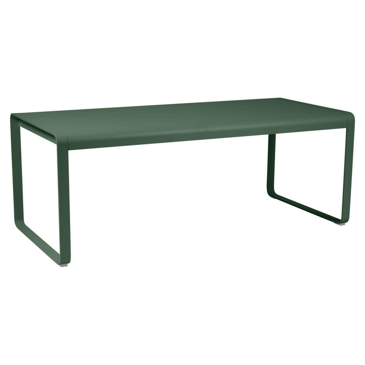 Table 90x196cm BELLEVIE PREMIUM Fermob vert cèdre