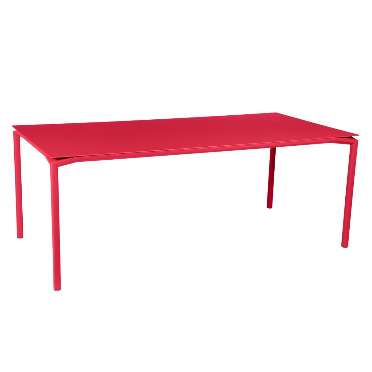 Table 95x195cm CALVI Fermob rose praline
