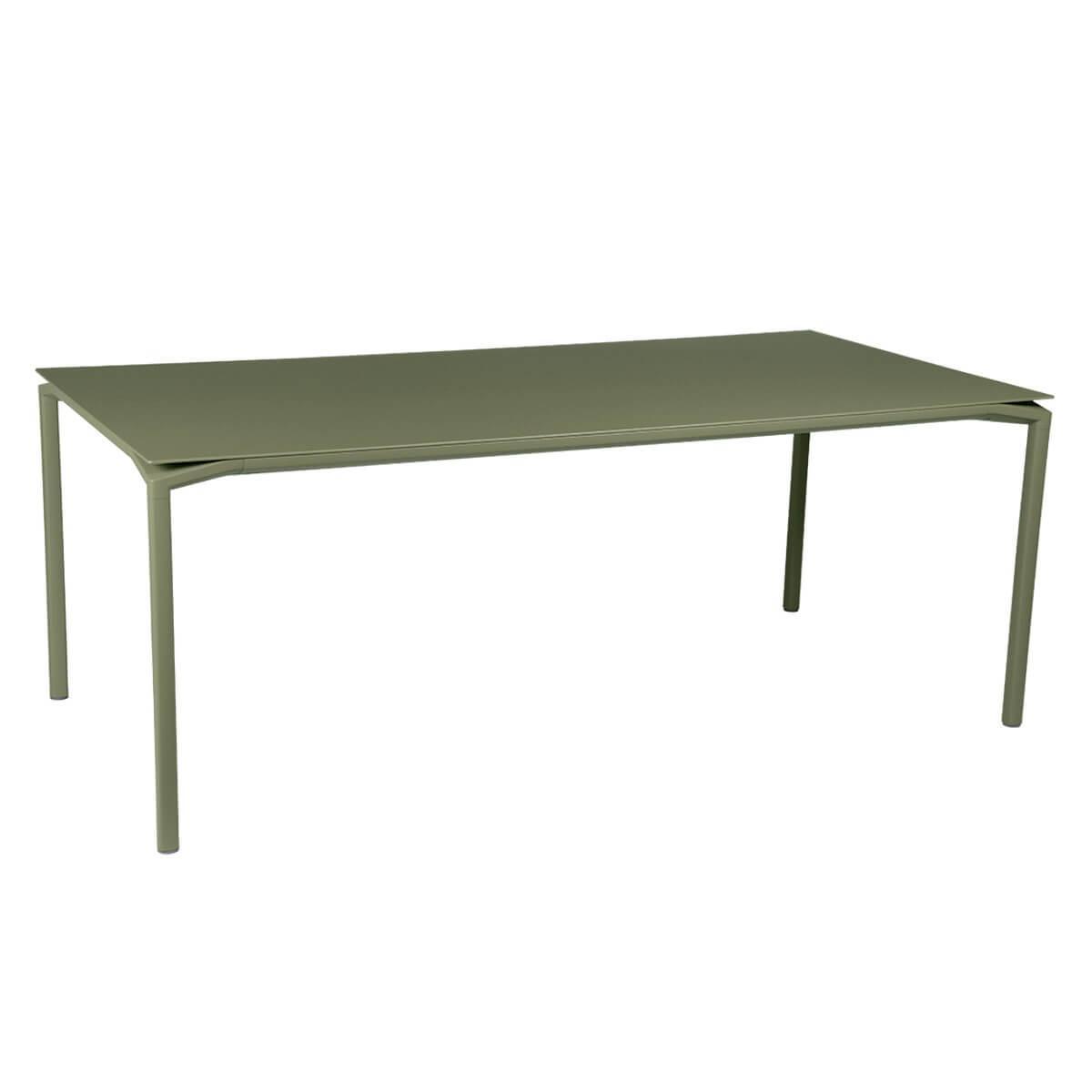 Table 95x195cm CALVI Fermob  vert cactus