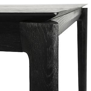 Table 95x220cm BOK Ethnicraft chêne noir